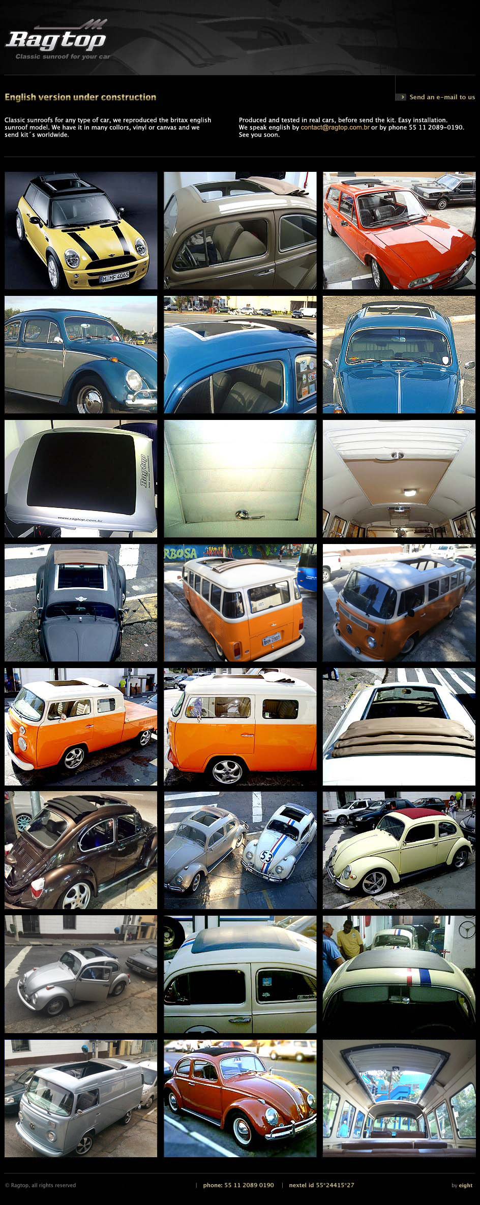 Ragtop | Classic sunroof for your car